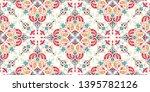 seamless pattern based on... | Shutterstock .eps vector #1395782126