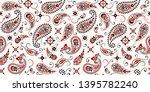 seamless pattern based on... | Shutterstock .eps vector #1395782240