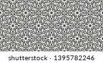 seamless pattern based on... | Shutterstock .eps vector #1395782246