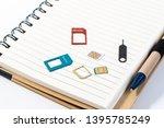 micro sim and nano sim... | Shutterstock . vector #1395785249