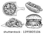 graphical set of fast food...   Shutterstock .eps vector #1395805106