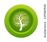 green tree button  raster... | Shutterstock . vector #139582940