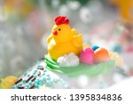 beautifully decorated... | Shutterstock . vector #1395834836