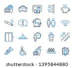 public services  wifi line... | Shutterstock .eps vector #1395844880