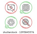 do or stop. cpu processor ... | Shutterstock .eps vector #1395845576