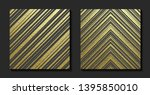 gold pattern with diagonal...   Shutterstock .eps vector #1395850010