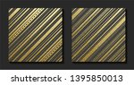 gold pattern with diagonal...   Shutterstock .eps vector #1395850013