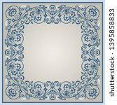 vector abstract decorative... | Shutterstock .eps vector #1395858833