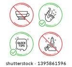 do or stop. jazz  quick tips... | Shutterstock .eps vector #1395861596