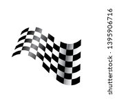race flag vector icon symbols.... | Shutterstock .eps vector #1395906716