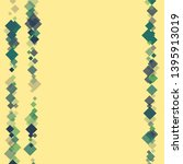 rhombus ornate minimal... | Shutterstock .eps vector #1395913019