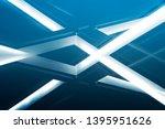 double exposure of lighting... | Shutterstock . vector #1395951626