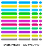 matted colored blank web... | Shutterstock .eps vector #1395982949