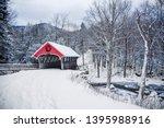 Snow Covered Bridge In The...