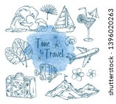 collection of summer travel...