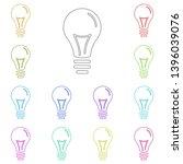lamp  bulb  tube multi color...