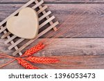 Wooden soap holder with a heart ...