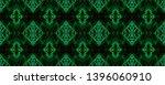 watercolor pattern. black ...   Shutterstock . vector #1396060910