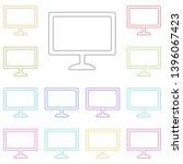 computer monitor multi color...