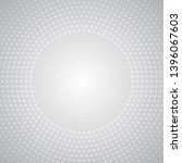 halftone radial dots background ... | Shutterstock .eps vector #1396067603