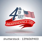 4th of july independence day... | Shutterstock .eps vector #1396069403