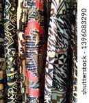 batik quilting pattern and...   Shutterstock . vector #1396083290