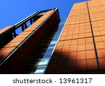 office hq building in paris. | Shutterstock . vector #13961317