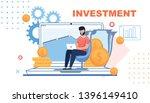 financial investment metaphor... | Shutterstock .eps vector #1396149410