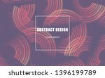 circle geometric abstract... | Shutterstock .eps vector #1396199789