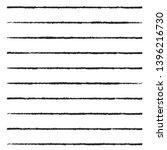 horizontal textured stripes.... | Shutterstock .eps vector #1396216730