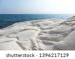 beautiful view of white sea... | Shutterstock . vector #1396217129
