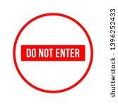 do not enter sign. no parking...   Shutterstock .eps vector #1396252433