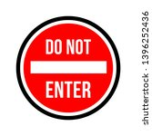do not enter sign. no parking...   Shutterstock .eps vector #1396252436