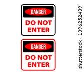 do not enter sign. no parking...   Shutterstock .eps vector #1396252439