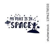 inspirational vector lettering...   Shutterstock .eps vector #1396278533