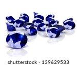 blue sapphire  high resolution... | Shutterstock . vector #139629533