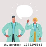 Vector Cartoon Illustration Of...