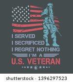 american veteran army... | Shutterstock .eps vector #1396297523
