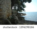 detail of the beach with rocks  ... | Shutterstock . vector #1396298186