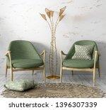 interior of cozy living room... | Shutterstock . vector #1396307339
