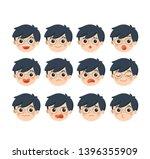 isolated vector. set of... | Shutterstock .eps vector #1396355909
