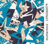 abstract seamless stars pattern ...   Shutterstock .eps vector #1396360079