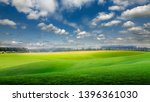 field of grass and perfect blue ... | Shutterstock . vector #1396361030