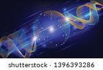 vector illustration wave lines... | Shutterstock .eps vector #1396393286