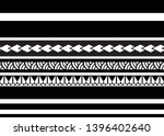 tribal pattern tattoo ... | Shutterstock .eps vector #1396402640