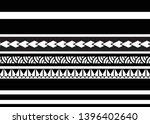 polynesian tribal pattern... | Shutterstock .eps vector #1396402640