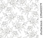 pencil artwork vector stencil... | Shutterstock .eps vector #1396403579