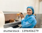 Stock photo just born puppy in pet hospital pet healthcare concept 1396406279