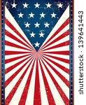 poster of us flag. american... | Shutterstock .eps vector #139641443