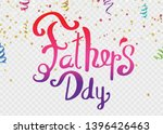 father day background holiday... | Shutterstock .eps vector #1396426463